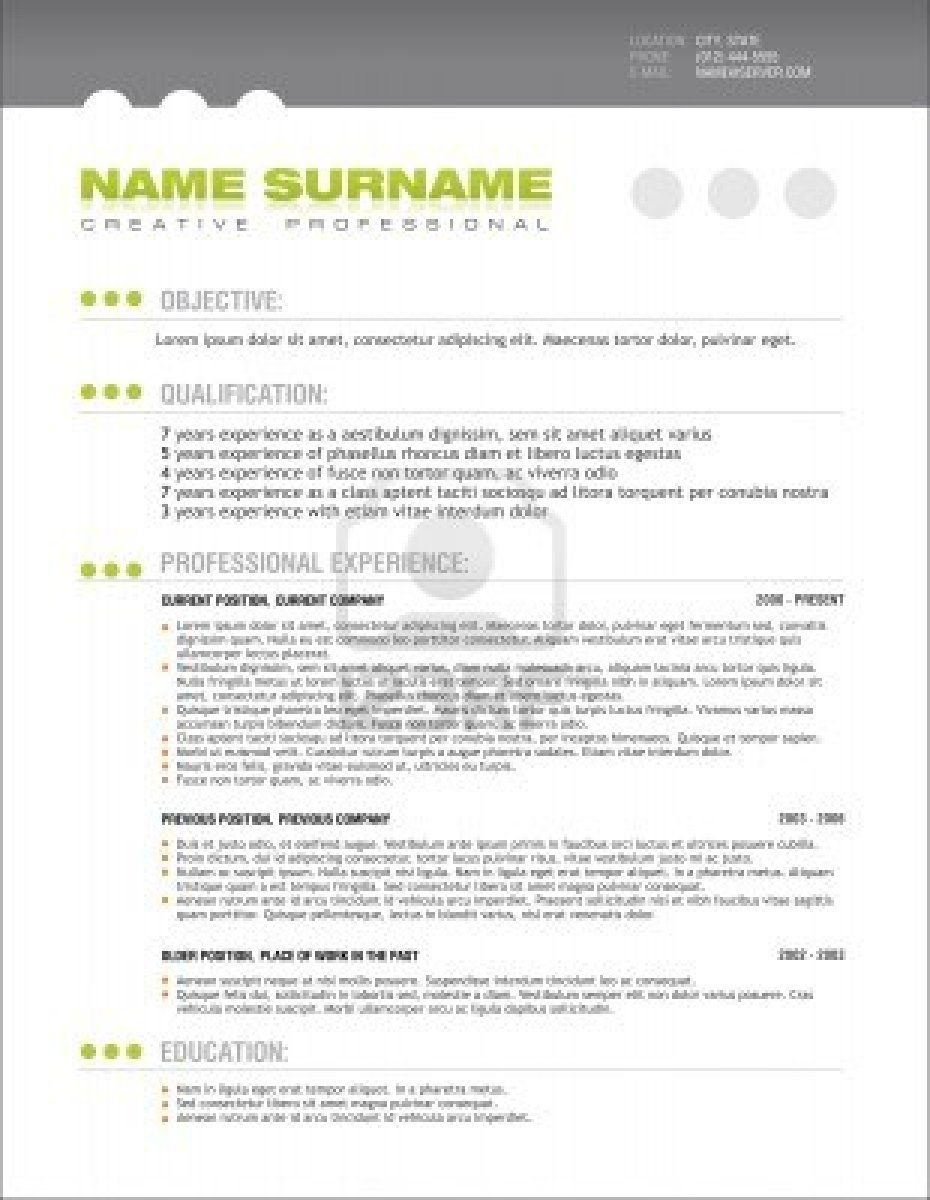 Call Center Floor Manager Sample Resume New Professional_Resume_Template_Free_Word 930×1200  Cv .