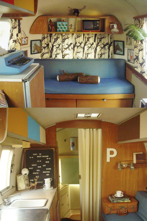 Gelungen camping pinterest wohnwagen innendesign for Wohnmobil innendesign