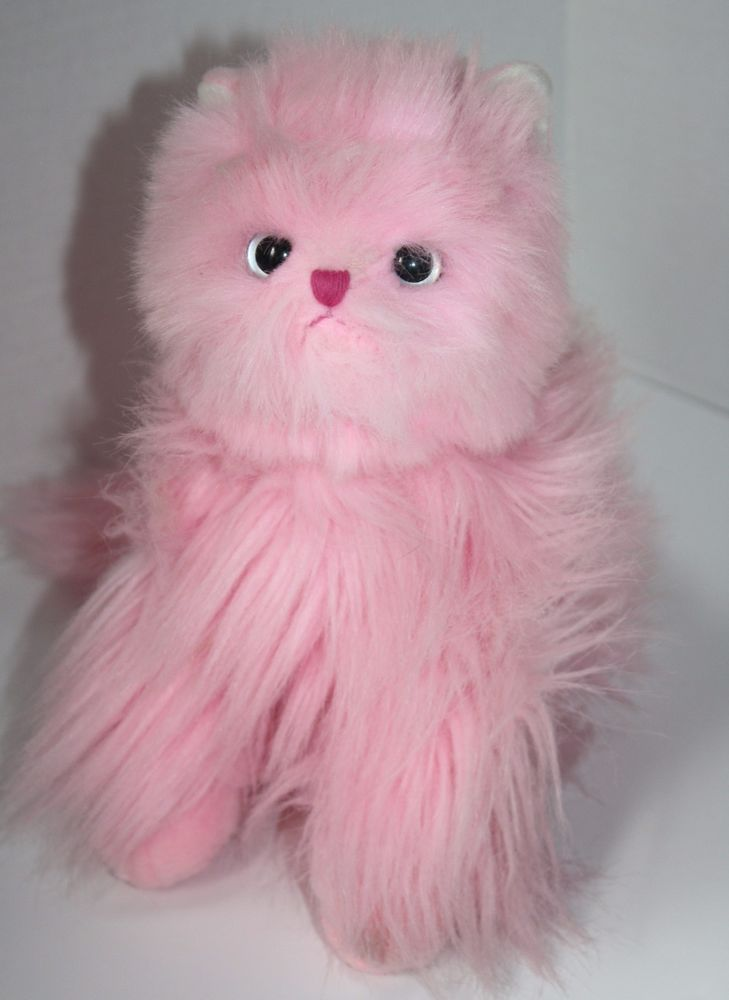 9661217021f Ty Classic Pinkys Kitty Persian Cat named Orchid. Pretty Pink plush Stuffed  Soft Toy kitty with pretty eyes 2004 about 12