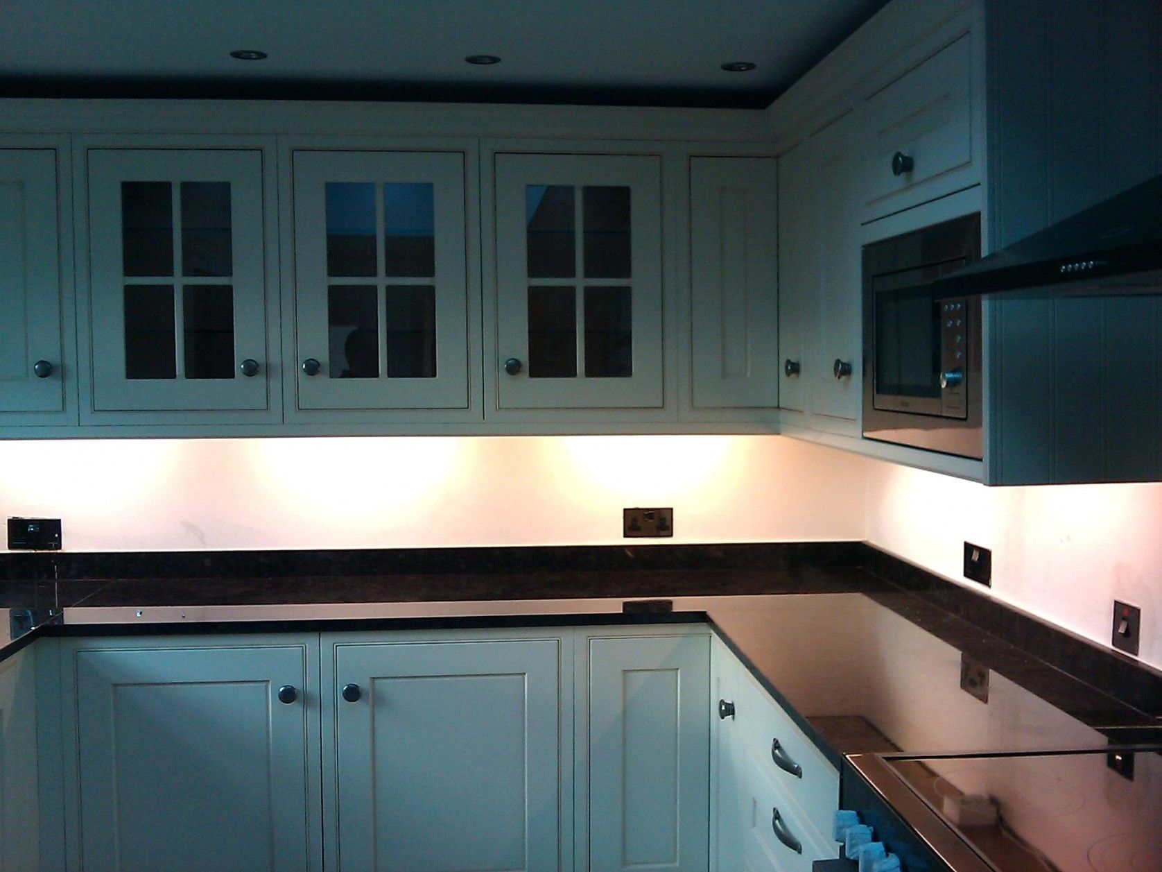 Kitchen Under Cabinet Professional Lighting Kit WARM WHITE LED Strip