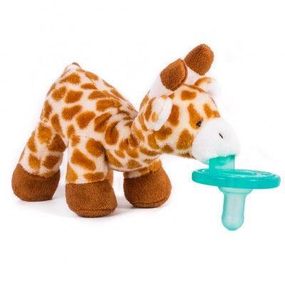 WubbaNub Infant Newborn Baby Soothie Pacifier ~ Baby Giraffe