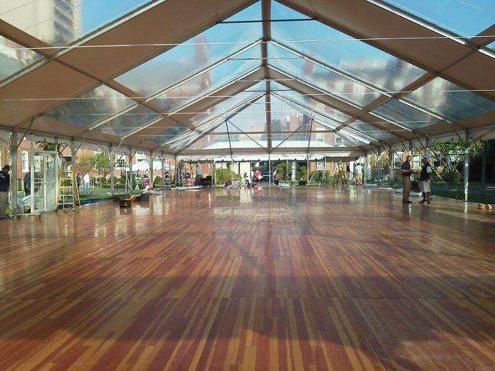Wonder Event Brown University Clear Top Tent Provide By Peterson Party Center Party Tent Rentals Tent Party Tent