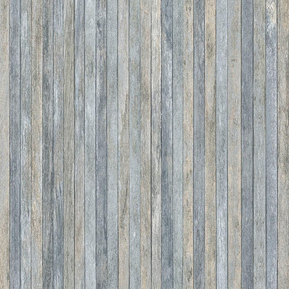 Norwall Scrapwood Vinyl Strippable Roll Wallpaper (Covers 56 sq. ft.) LL36239 - The Home Depot