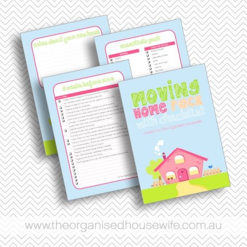 Moving home checklist and how to pack tips Housewife, Organizing