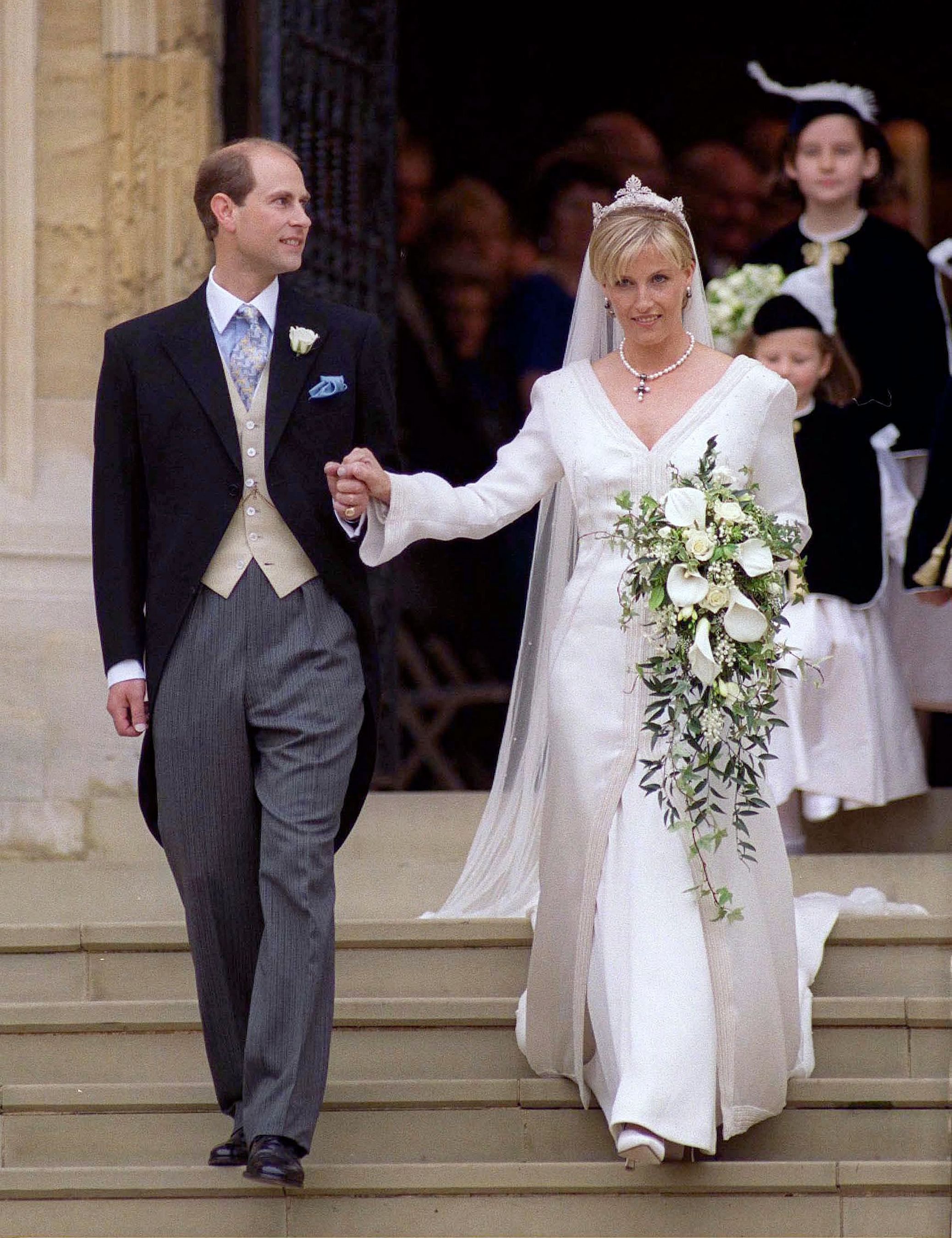 How Prince Edward and Sophie, Countess of Wessex, Are