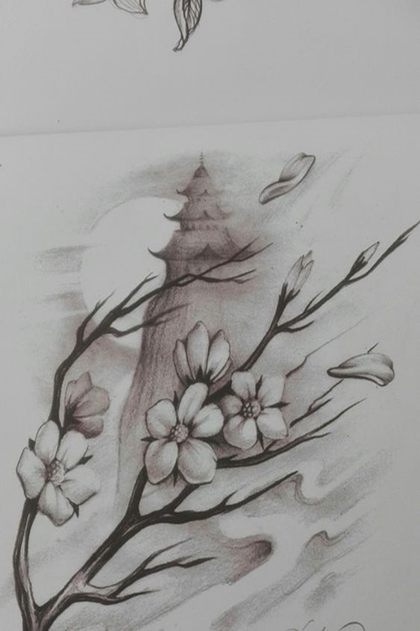 40 Easy Flower Pencil Drawings For Inspiration Pencil