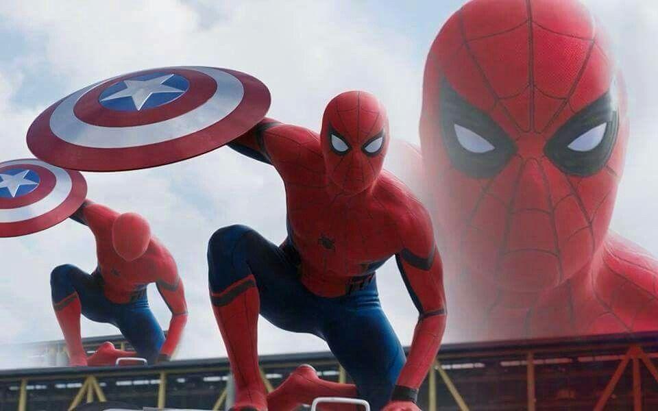 Spiderman in the Captain America Civil War movie. Costume looks amazing.