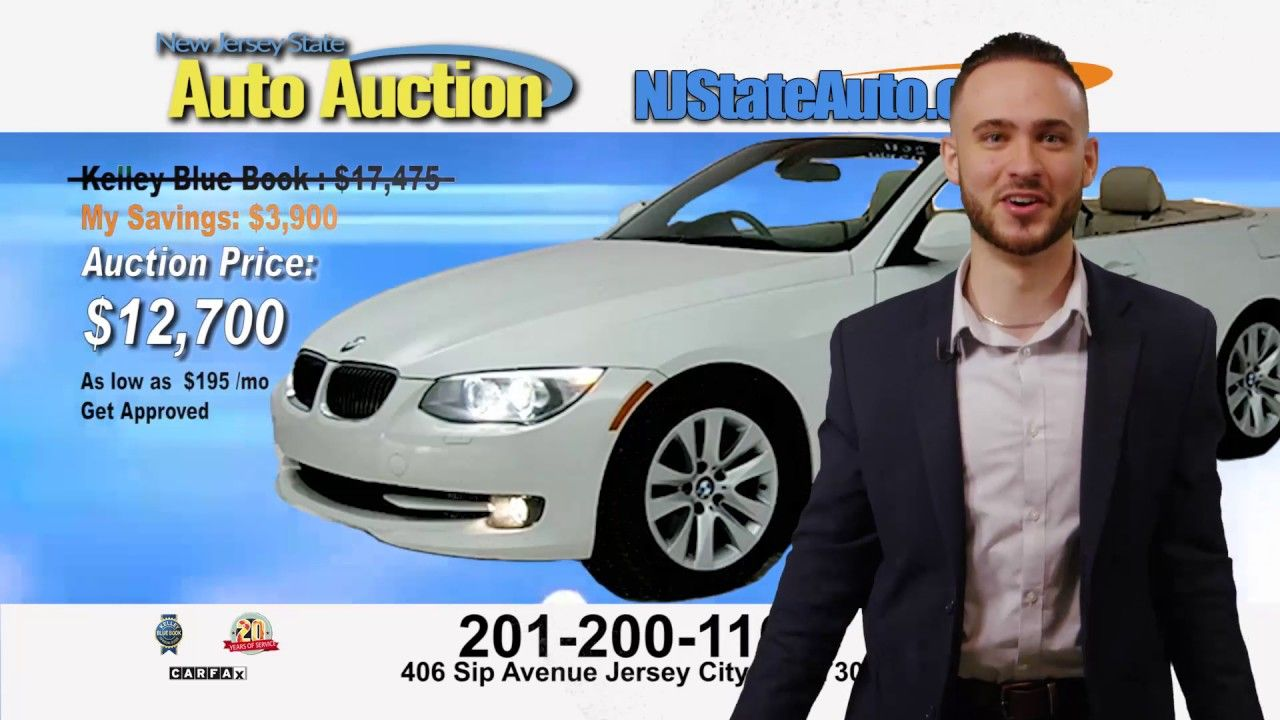 NJ State Auto Auction Jersey City NJ 2012001100 or