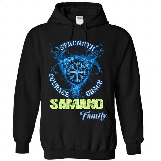 SAMANO - Family - #tshirt rug #nike hoodie. I WANT THIS => https://www.sunfrog.com/Names/SAMANO--Family-6201-Black-Hoodie.html?68278