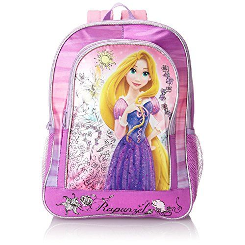 92016bb11f0 Disney Princess Rapunzel Purple 16 inch Backpack Disney http   www.amazon.