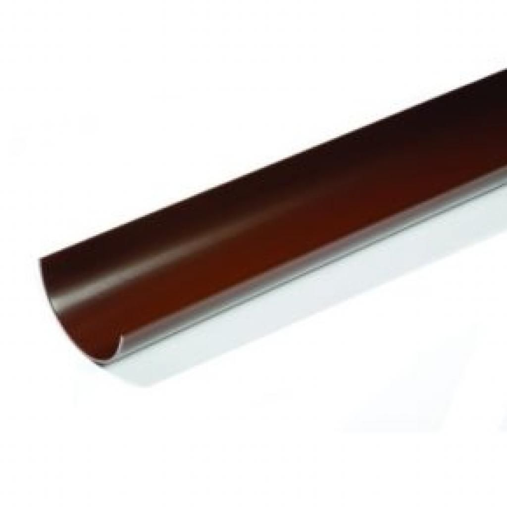 Brown Round Gutter 4mt Length 112mm Pvc Gutters Plastic Guttering Gutter