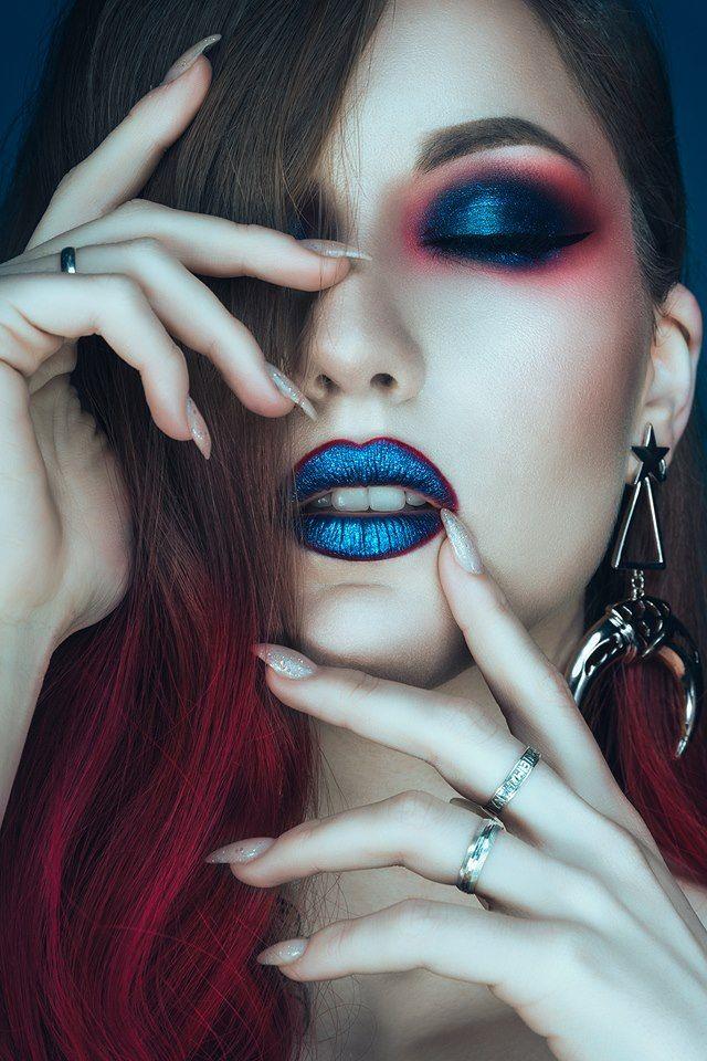 Modelo & Maquillaje: Goty Fotografía y edición: Rebeca Saray con Pentax k1 & Broncolor