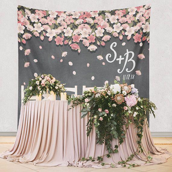 Wedding Flower Decoration Ideas: Floral Backdrop For Wedding Reception, Wedding Ceremony