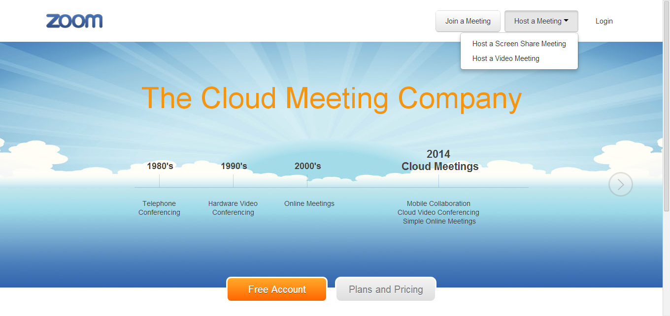 Zoom offers the #1 Cloud Video Conferencing Experience that
