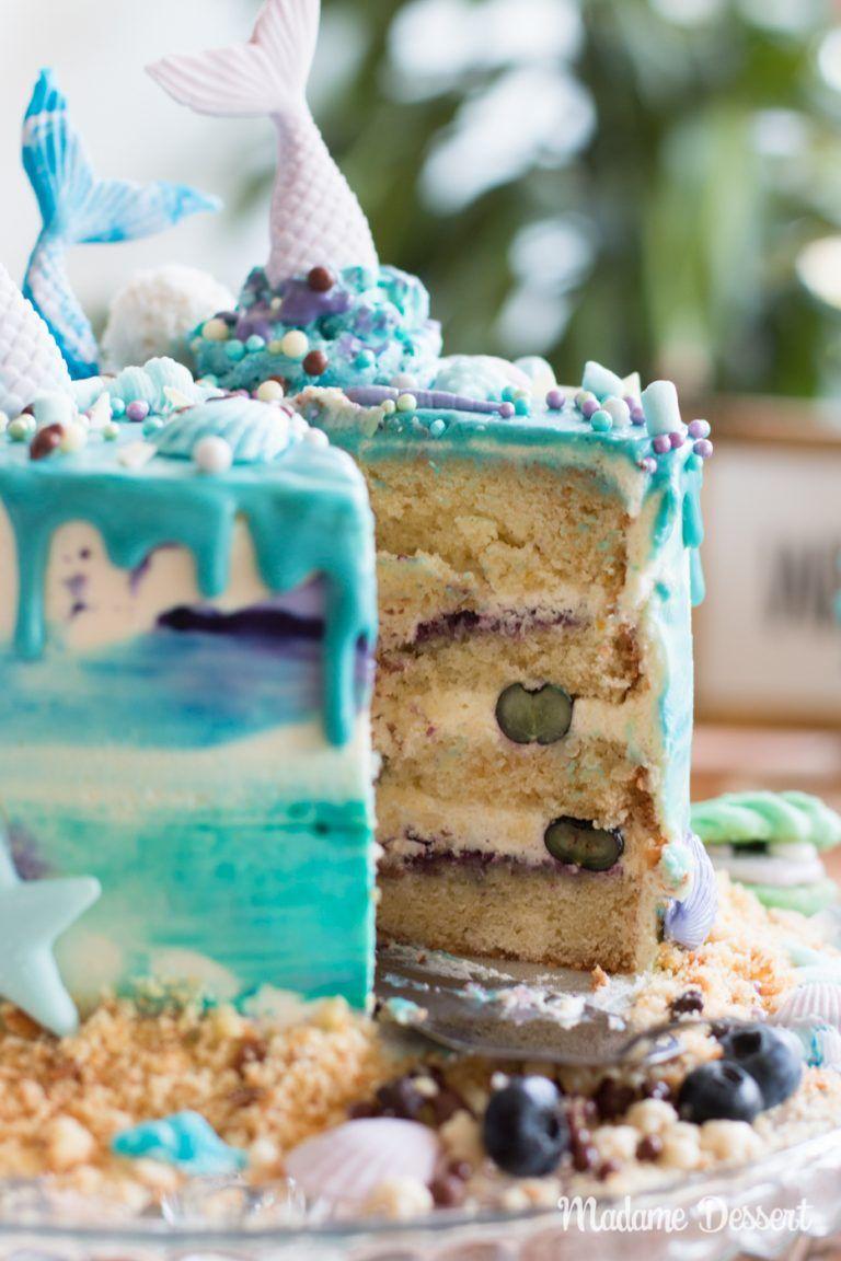 Rezept für Dessert Mermaid Cake Madame