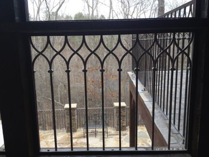 Wrought Iron Railing Detail With Images Wrought Iron Stair