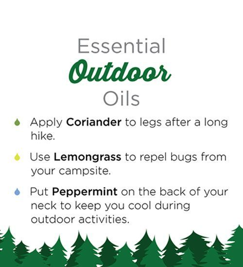 Outdoor Essential Oils