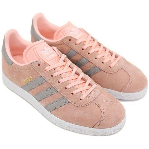 d7da8d3c4d4 adidas Originals GAZELLE W rosa - Sapatos Sapatilhas Mulher 99
