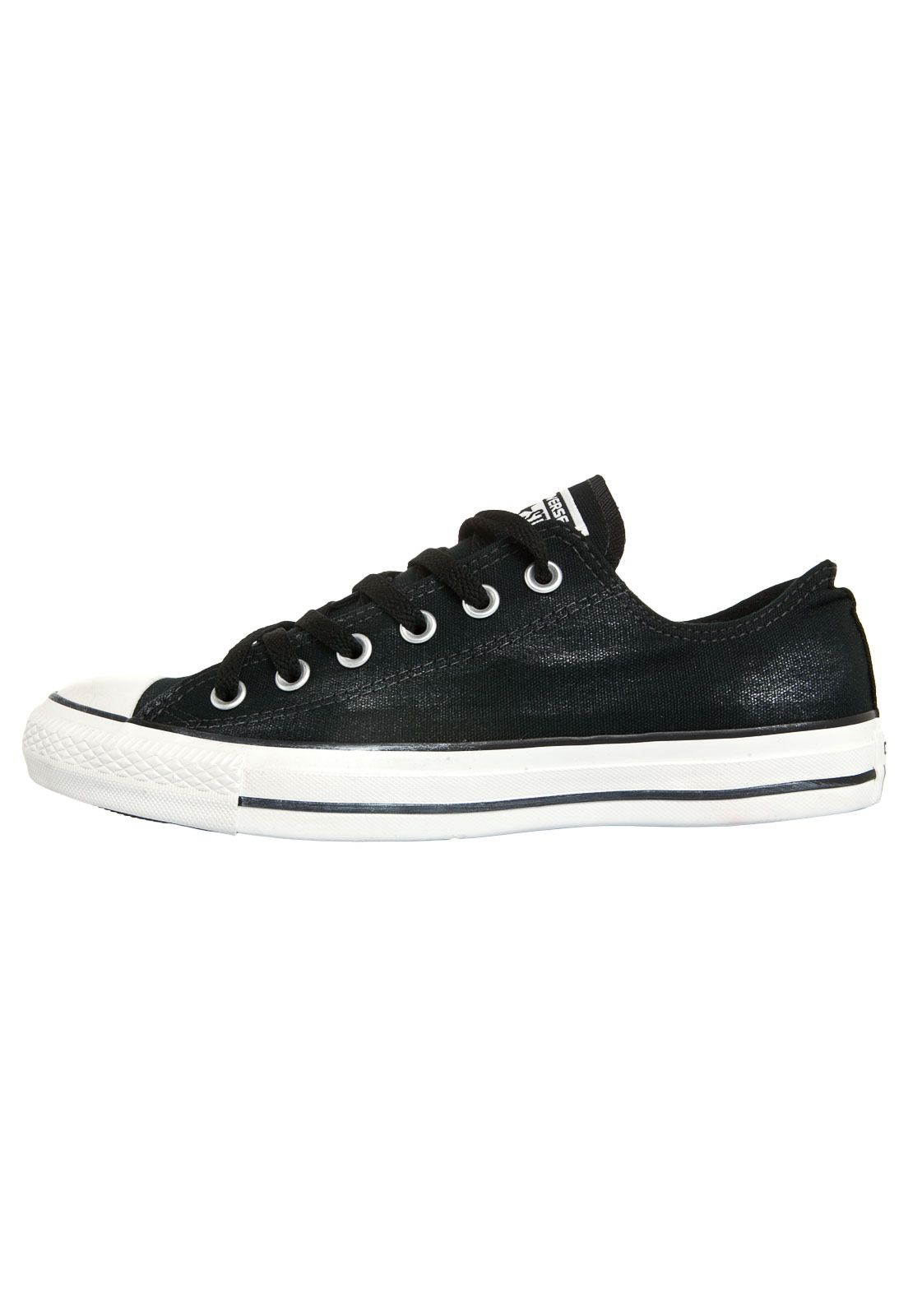 Tênis Converse All Star Ct As Ox Preto - Compre Agora  1f32b0e074262