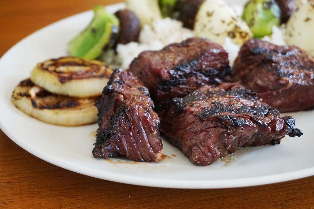Brown Sugar Bourbon Steak Tips Recipe Steak Tips Bourbon Steak Cooking Meat