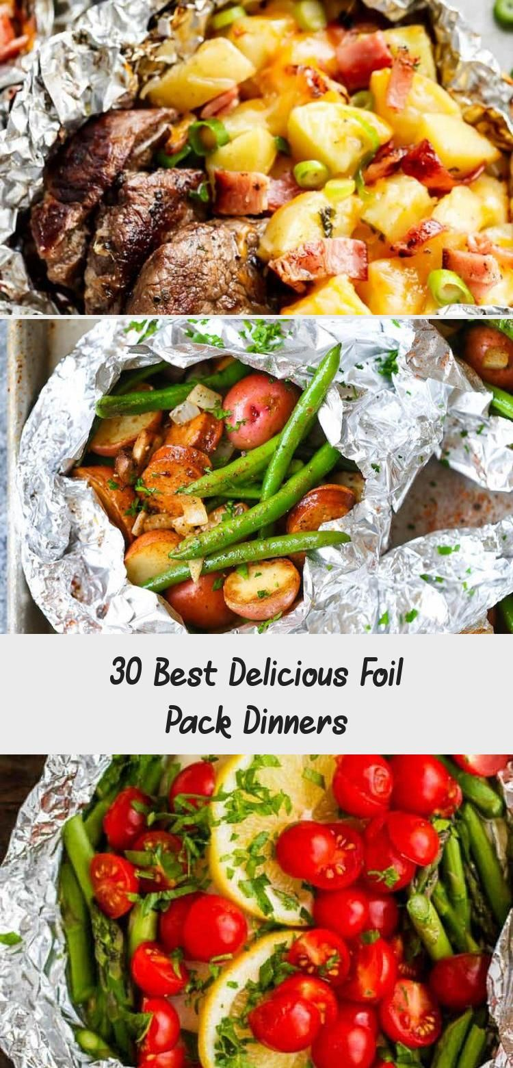 Photo of 30 Best Delicious Foil Pack Dinners – Healthy Recipes