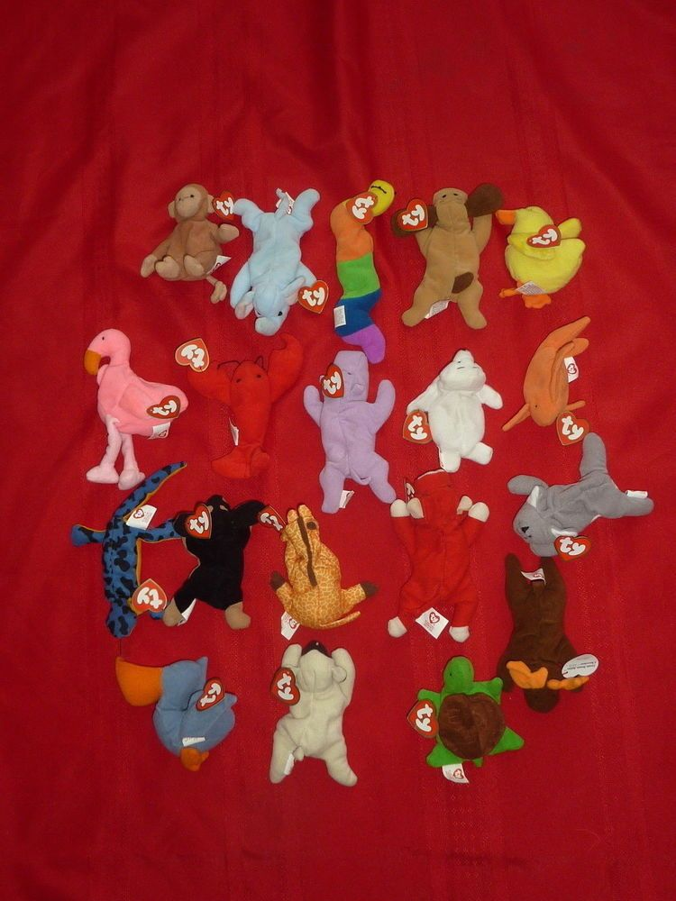 f42eecfd246 Ty McDonald s Teenie Beanie Babies Collection Lot of 19 all w  Tags NO bags  C7  Ty