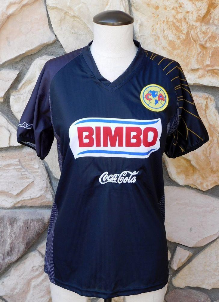 CLUB AMERICA CA BIMBO Soccer Futbol Jersey Coca Cola Corona Youth Boy Girl   ClubAmerica 3398180d4
