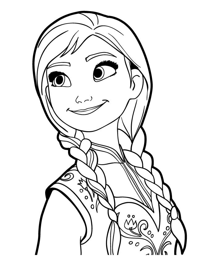 Frozen Coloring Pages Anna Frozen Coloring Pages Disney Princess Coloring Pages Frozen Coloring
