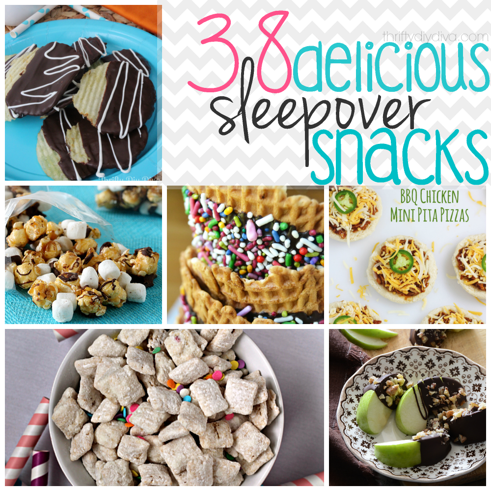 38 Delicious Sleepover Snack Recipes! In 2019