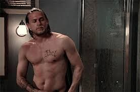 Topic Absolutely Charlie hunnam naked on a harley for that