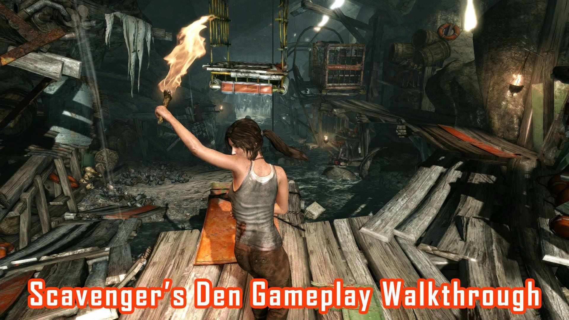 Tomb Raider 2013 Scavenger S Den Pc Gameplay Walkthrough