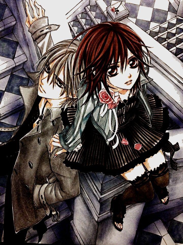 KhikiKhuki Vampire Knight (VK) Kiryuu Zero x Yuki Cross
