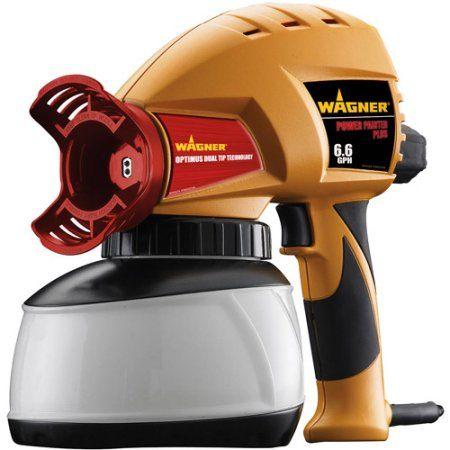 Wagner 0525001e Power Painter Plus 6 6 Gph Power Paint
