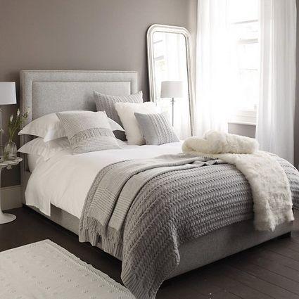 Dormitorios En Color Gris Decoración De Interiores Y Exteriores Estiloydeco Decoraciones De Dormitorio Dormitorios Decoracion De Dormitorio Matrimonial