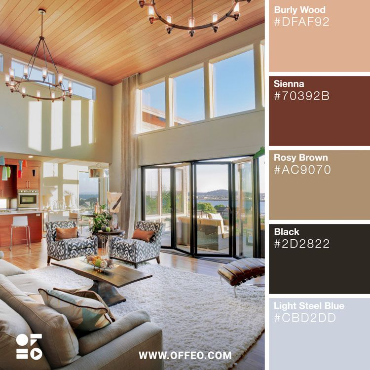 20 Modern Home Color Palettes To Inspire You With Images Color Combinations Home House Colors