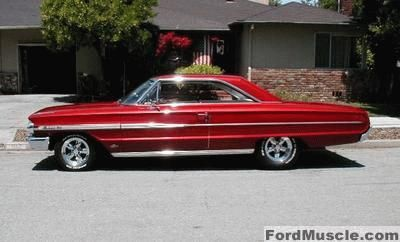 1964 Ford Galaxie 500 Taught Myself To Drive In One Of These