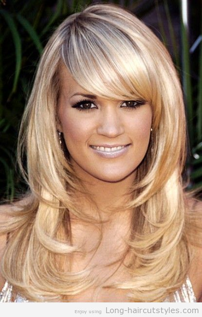 Long Hairstyles 2013 With Side Bangs
