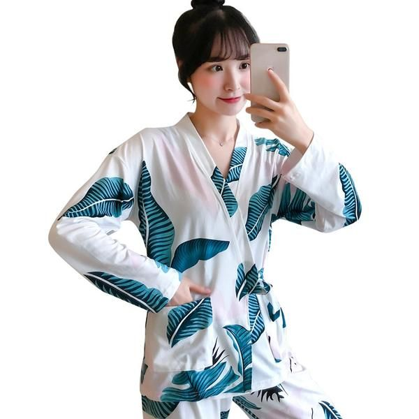 High Quality Clothes Autumn Winter Long Sleeve Pajamas For -9705