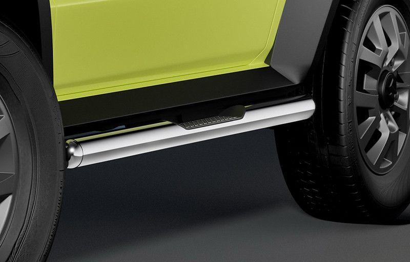 新型ジムニー用カスタムパーツがドイツから ブッシュガード サイドステップを数種ラインアップ ジムニー 新型ジムニー ジムニーシエラ