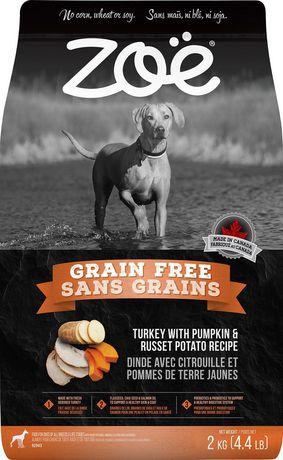 Zoe Zo Grain Free Turkey With Pumpkin And Russet Potato Dry Dog