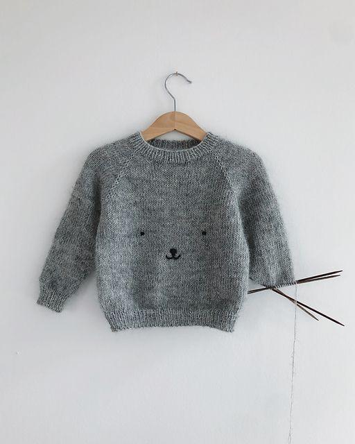 Photo of Teddy Bear Sweater pattern by PetiteKnit