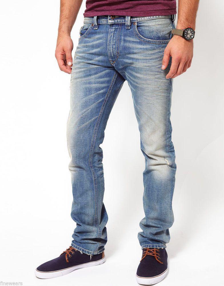 Diesel Jeans Thanaz Herren Slim Skinny DNA Kollektion Neu c15eea4de5