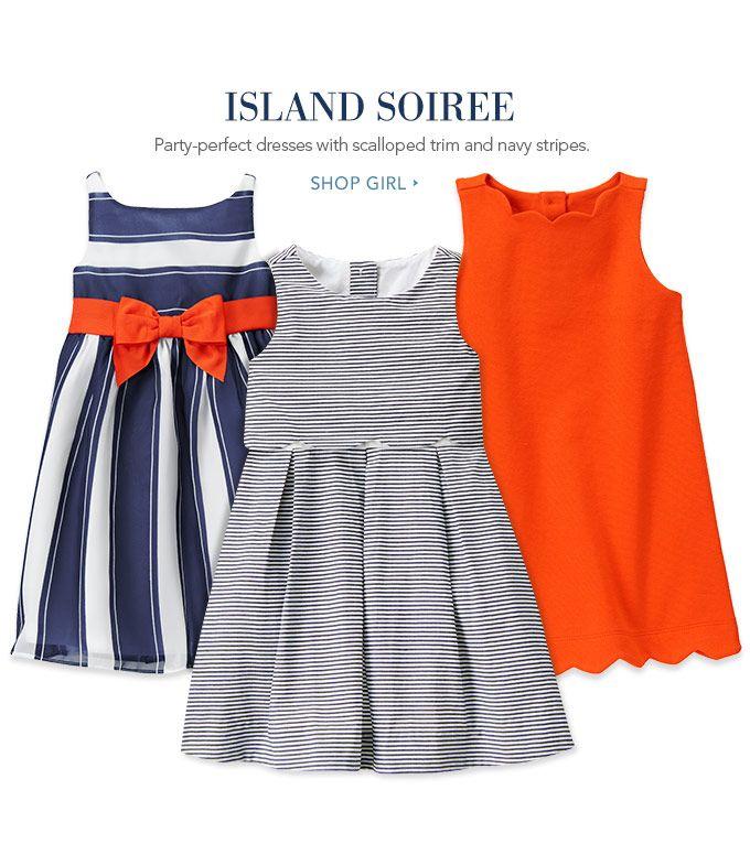 Janie & Jack Girl - Santorini Sunset Island Soiree 2015