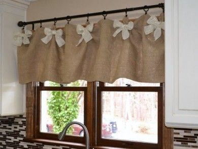 Elegant Kitchen Window Curtains For Decoration