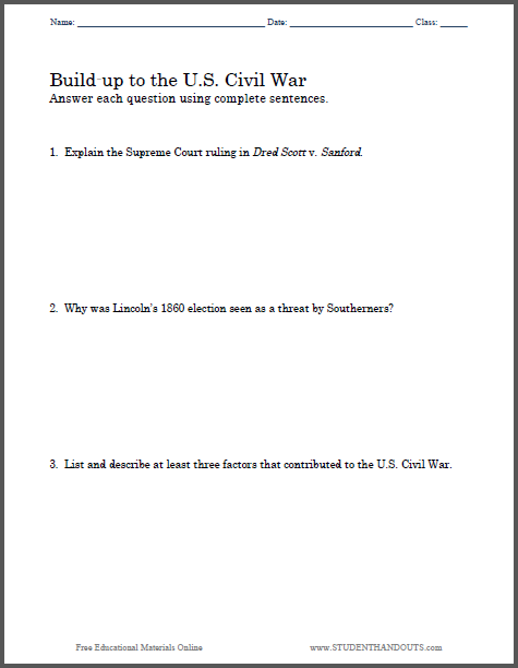 build up to the u s civil war essay questions to print build up to the u s civil war essay questions to print pdf