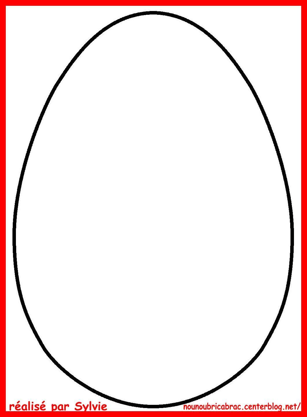 Gabarit Pâques sur a4