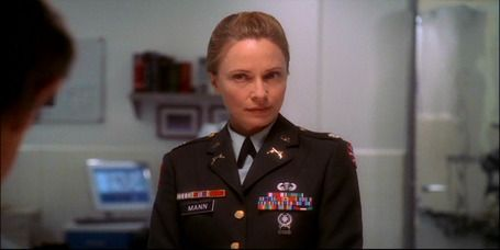 Hollis Mann, US Army -I really liked her for Gibbs   much