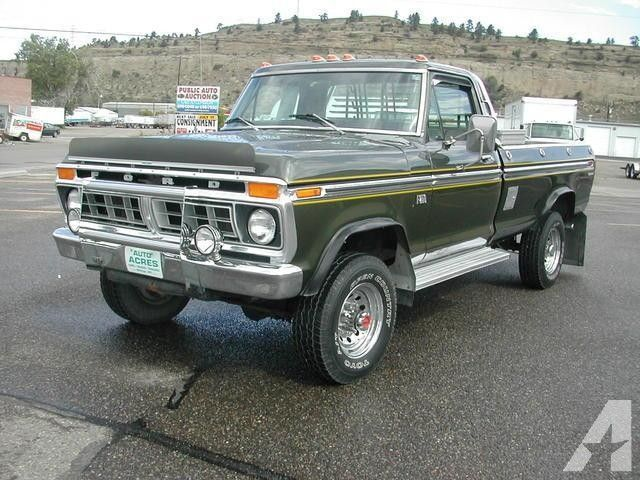 1976 Ford Truck 1976 Ford F250 For Sale In Billings Montana Classifieds Old Ford Trucks Ford 4x4 Classic Ford Trucks