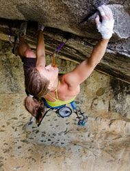 Its the climb... wanna do extreme rock climbing someday!