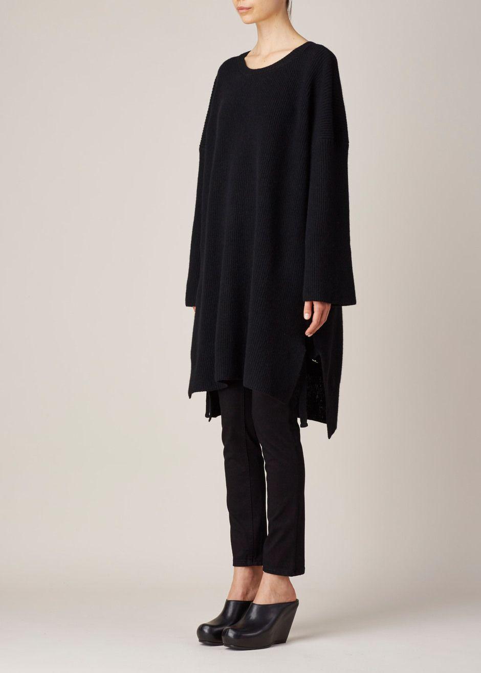 Y's by Yohji Yamamoto Super Long Boxy Knit
